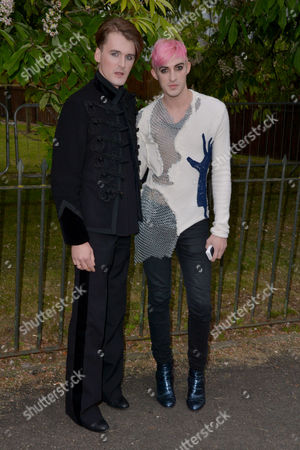 London, England, 6th July 2016 : Gareth Pugh, Carson Mccoll at the Serpentine Gallery Annual Summer Party in London, England On the 6th July 2016..