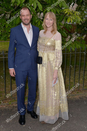 London, England, 6th July 2016 : Jade Parfitt, Jack Dyson at the Serpentine Gallery Annual Summer Party in London, England On the 6th July 2016..