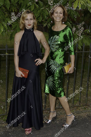 London, England, 6th July 2016 : Andrea Dellal, Charlotte Dellal at the Serpentine Gallery Annual Summer Party in London, England On the 6th July 2016..