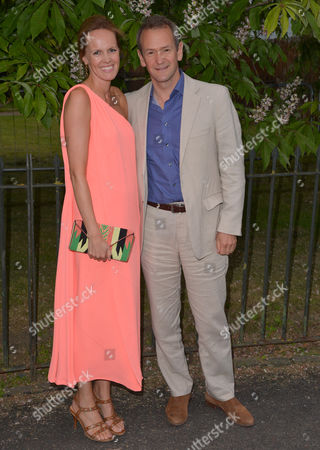London, England, 6th July 2016 : Alexander Armstrong and Wife Hannah Bronwen-snow at the Serpentine Gallery Annual Summer Party in London, England On the 6th July 2016..