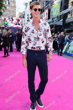 London UK 3rd August: Samuel Harwood at the European Premiere of Suicide Squad at the Odeon Leicester Square, London UK On 3rd August 2016.