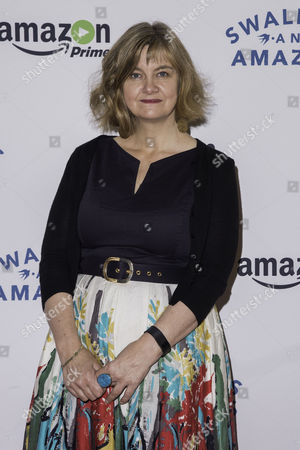 London, England, 23rd July 2016: Writer, Andrea Gibb Attends the 'swallows and Amazons' Multimedia Vip Screening at Picturehouse Central, London On the 23rd July 2016