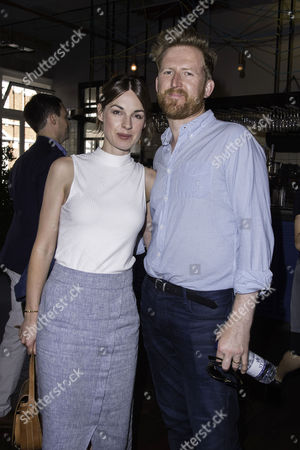 London, England, 23rd July 2016: Jessica Raine with Her Husband Tom Goodman-hill Attend the 'swallows and Amazons' Multimedia Vip Screening at Picturehouse Central, London On the 23rd July 2016