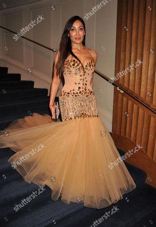 The 4th Asian Awards at the Ballroom of the Grosvenor House Hotel Park Lane London Sophia Hayat