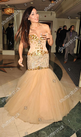 Stock Picture of The 4th Asian Awards at the Ballroom of the Grosvenor House Hotel Park Lane London Sophia Hayat