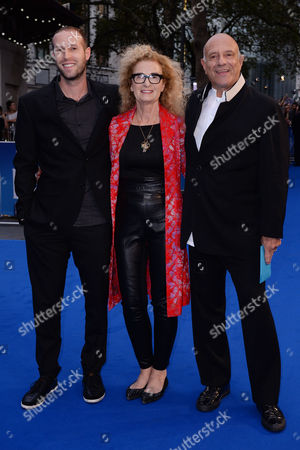 London, England 15th September 2016: Matthew White (r) Arrives at the the Beatles: Eight Days a Week Premiere at the Odeon, Leicester Square, London, England. 15th September 2016.