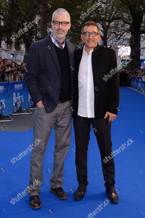 London, England 15th September 2016: Mark Monroe and Paul Crowder Arrive at the the Beatles: Eight Days a Week Premiere at the Odeon, Leicester Square, London, England. 15th September 2016.