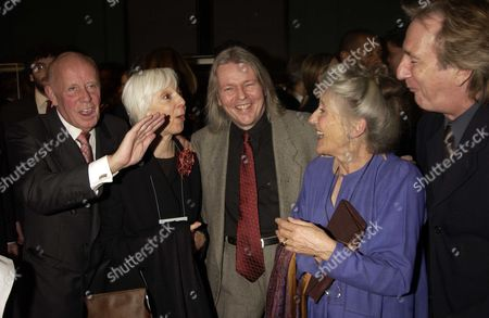 The Human Right Watch Annual Dinner at the V&a Richard Wilson Anna Massey Christopher Hampton Phyllida Law & Alan Rickman