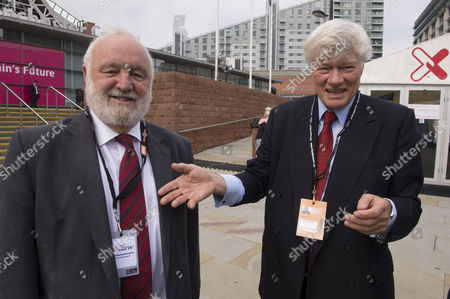 The Labour Autumn Conference in Manchester Uk Frank Dobson Mp & Geoffery Robinson Qc