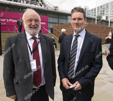 The Labour Autumn Conference in Manchester Uk Frank Dobson and Sir Keir Starmer