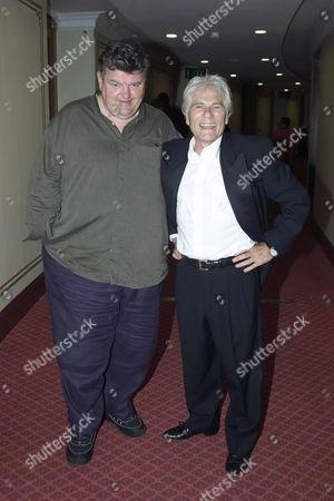 The Launch of Digital Classics at the Royal Albert Hall in Aid of the Life Neurological Research Trust Shaukat Khanun Memorial Hospital and the Blue Cross Robbie Coltrane and Adam Faith