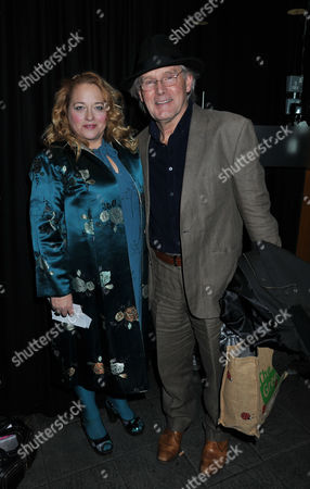 The Madness of King George 111 Press Night at the Apollo Theatre Shaftesbury Avenue and Afterparty at Bar Rhumba Shaftesbury Avenue London Beatie Edney & Clive Francis