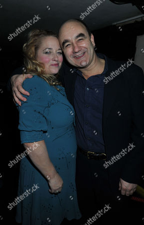 The Madness of King George 111 Press Night at the Apollo Theatre Shaftesbury Avenue and Afterparty at Bar Rhumba Shaftesbury Avenue London Beatie Edney and David Haig