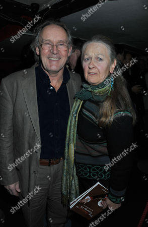 The Madness of King George 111 Press Night at the Apollo Theatre Shaftesbury Avenue and Afterparty at Bar Rhumba Shaftesbury Avenue London Clive Francis and Anna Carteret