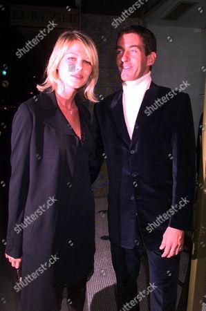 Tim Jeffries with Ingrid Sevnhaeve at Henry Dent Brocklehurst Party