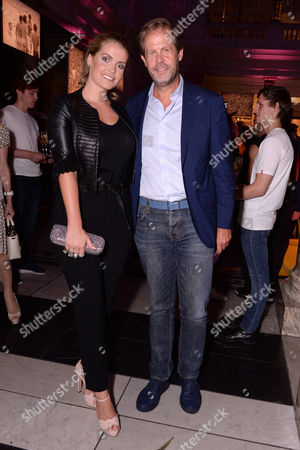 London, England 7th September 2016: Lady Kitty Spencer and Niccolo Barattieri Di San Pietro at the You Say You Want a Revolution: Records & Rebels 1966-70 Preview Party at the Victoria and Albert Museum in London On the 7th September 2016.