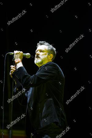 Editorial image of Blancmange in concert, Sheffield Arena, UK - 03 Dec 2016