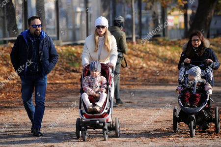 Editorial picture of Michelle Hunziker out and about, Milan, Italy - 07 Dec 2016