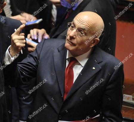 Editorial image of Senate budget vote, Rome, Italy - 07 Dec 2016