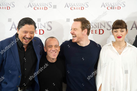 Editorial photo of 'Assassin's Creed' film photocall, Madrid, Spain - 07 Dec 2016