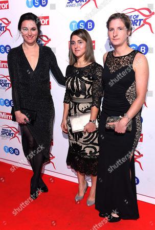 Sarah Storey and guests
