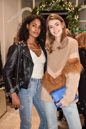 Nadia Araujo and Eve Delf