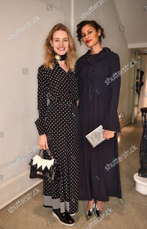 Natalia Vodianova and Aluna Francis