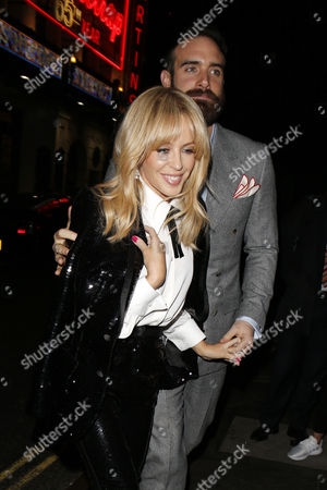 Stock Image of Kylie Minogue and Joshua Sasse