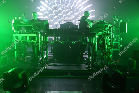 The Chemical Brothers - Ed Simons and Tom Rowlands