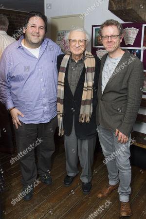 David Babani (Artistic Director), Sheldon Harnick (Lyrics) and Matthew White (Director)