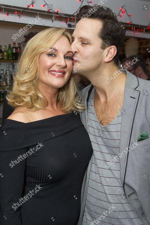 Katherine Kingsley (Ilona Ritter) and Dominic Tighe (Steven Kodaly)