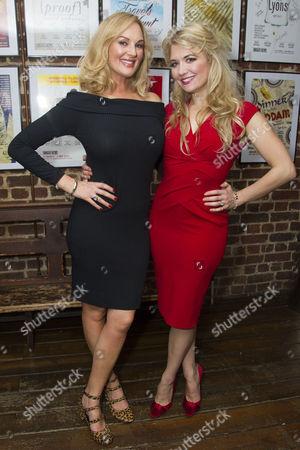 Katherine Kingsley (Ilona Ritter) and Scarlett Strallen (Amalia)