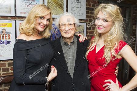 Katherine Kingsley (Ilona Ritter), Sheldon Harnick (Lyrics) and Scarlett Strallen (Amalia)