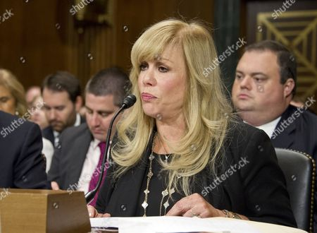 """Daphna Ziman, President, Cinémoi, gives testimony before the United States Senate Committee on the Judiciary Subcommittee on Antitrust, Competition Policy & Consumer Rights during the hearing """"Examining the Competitive Impact of the AT&T-Time Warner Transaction"""" on Capitol Hill in Washington, DC."""