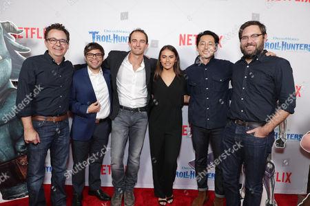 Kevin Hageman, Charlie Saxton, Andrew Yeatman, Lexi Medrano, Steven Yeun, Dan Hageman