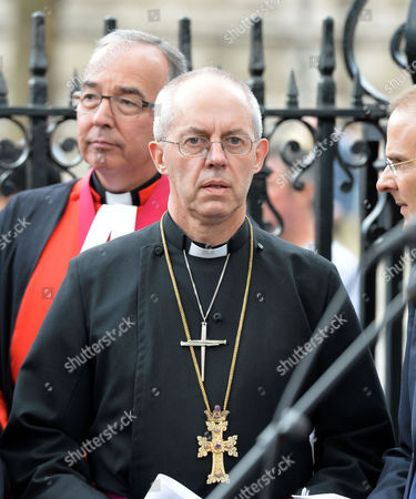 World Jewish Relief Islamic Relief & Christian Aid Event #weareallhuman Interfaith Vigil: Ôshowing Solidarity with the People of Iraq' Meeting at Westminster Abbey the Very Reverend Dr John Hall Dean of Westminster and the Most Rev & Rt Hon Justin Welby Archbishop of Canterbury