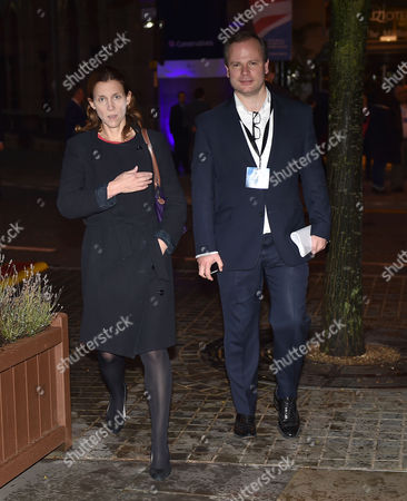 Stock Photo of 06 10 15 Conservative Party Conference at Manchester Central Kate Fall and Graig Oliver