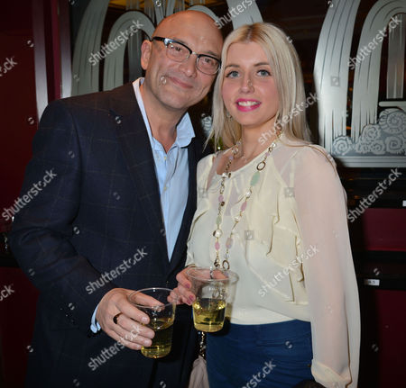 5th Anniversary Performance of Jersey Boy's at the Prince Edward Theatre Old Compton Street Soho London Gregg Wallace with Girlfriend Anne-marie Sterpini