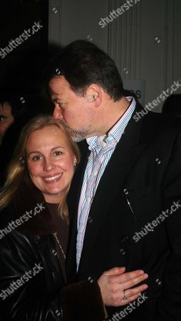 The 1st Night of 'A Life On the Theatre' at the Apollo Theatre Shaftsbury Ave London the 1st Night of 'A Life On the Theatre' at the Apollo Theatre Shaftsbury Ave London Jonathan Frakes & His Wife Genie Francis