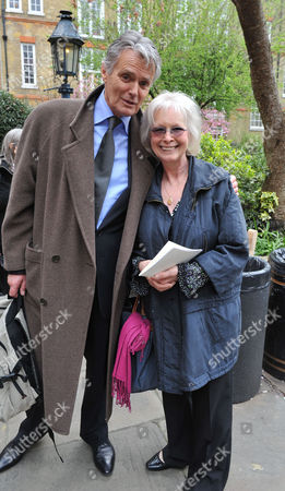A Service of Thanksgiving For the Life of Christopher Cazenove at St Pauls Church Convent Garden London Simon Williams and Babs Powell