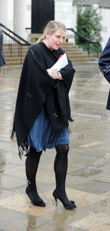 A Service of Thanksgiving For the Life of Rose Parker Bowles at the Guards Chapel Birdcage Walk Westminster London Laura Lopes