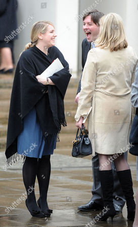 A Service of Thanksgiving For the Life of Rose Parker Bowles at the Guards Chapel Birdcage Walk Westminster London Laura & Harry Lopes