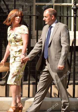 Andy Murray at Number 10 Downing Street William Murray and His Partner