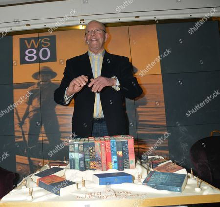 Author Wilbur Smith Celebrates His 80th Birthday with A Party at the Ivy Club Soho London Wilbur Smith