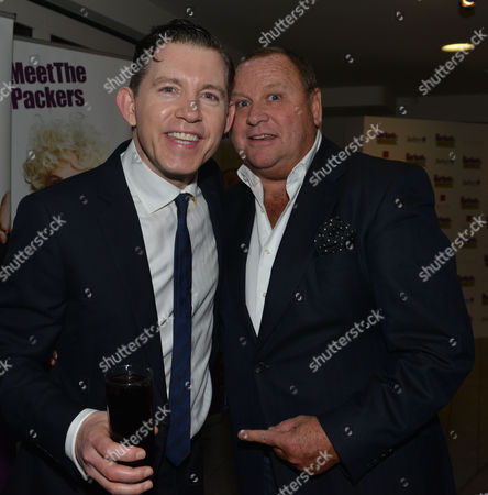 Barking in Essex Press Night at Wyndham's Theatre and the After Party at the Crypt at St Martin's in the Fields Lee Evans & Gary Farrow