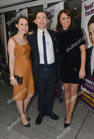 Stock Photo of Barking in Essex Press Night at Wyndham's Theatre and the After Party at the Crypt at St Martin's in the Fields Montserrat Lombard Lee Evans and Keeley Hawes