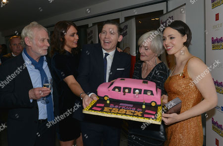 Barking in Essex Press Night at Wyndham's Theatre and the After Party at the Crypt at St Martin's in the Fields Karl Johnson Keeley Hawes Lee Evans Sheila Hancock & Montserrat Lombard