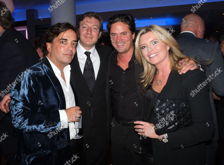 Bell Pottinger Private Screening of Skyfall at the Lounge the Odeon Whiteley's Queensway London James Henderson Ceawlin Thynn Viscount Weymouth with Oliver & Tina Wheeler
