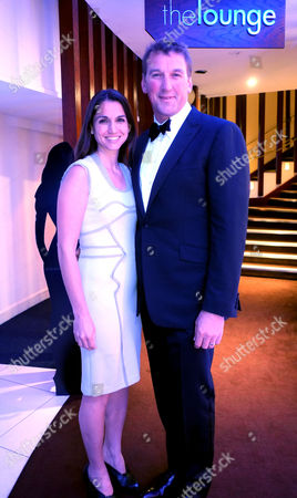 Stock Photo of Bell Pottinger Private Screening of Skyfall at the Lounge the Odeon Whiteley's Queensway London Matthew Pinnset and His Wife Demetra Koutsoukos