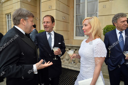 Bell Pottinger Private Summer Party at Lancaster House St James London Lord Strathclyde Richard Desmond and Joy Canfield